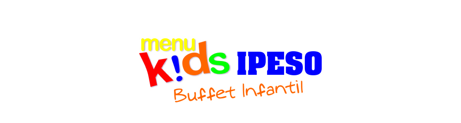menu kids buffet infantil